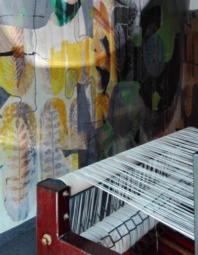 """Tapeta """"Jesienne liście"""" w galerii Tapetah w Sao Paulo (Brazylia)"""