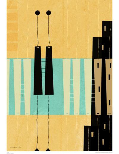 Poster | proj. P+F Michałek | 1965-2017