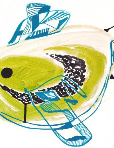 Ptak Odwrócony | nr.kat. 0296