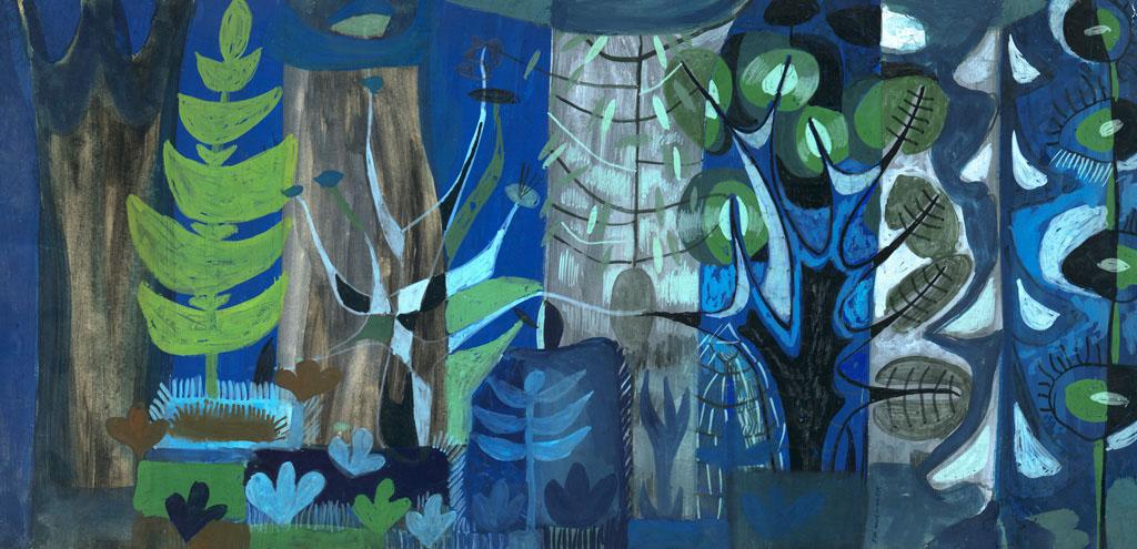 Błekitny las | nr.kat. 0426