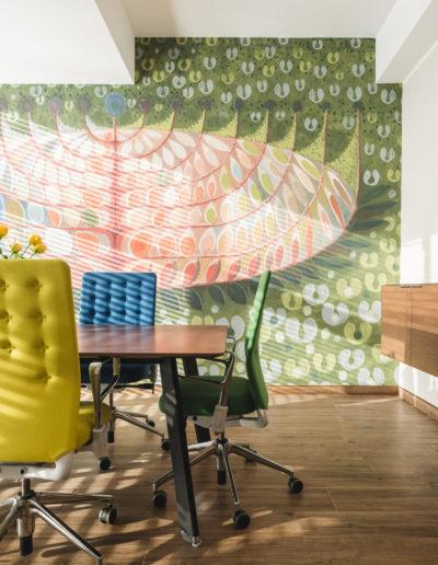 Biuro   proj. wnętrz T3 Atelier