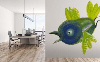 Ptaszek Zielonoręki