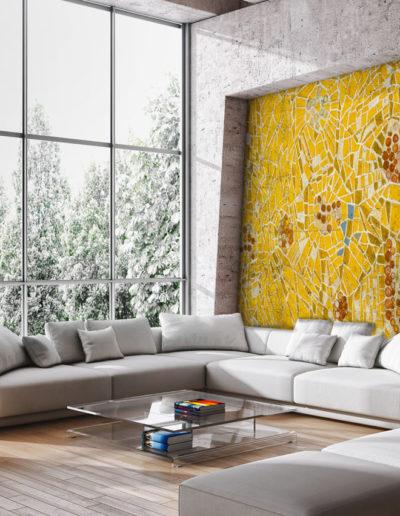 Mozaika Żółta | nr.kat. 0017