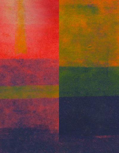 Czerwona Abstrakcja | nr.kat. 0044